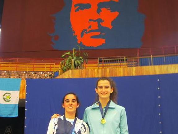 Bernatene y Garmendia vienen de ganar un bronce en Cuba.