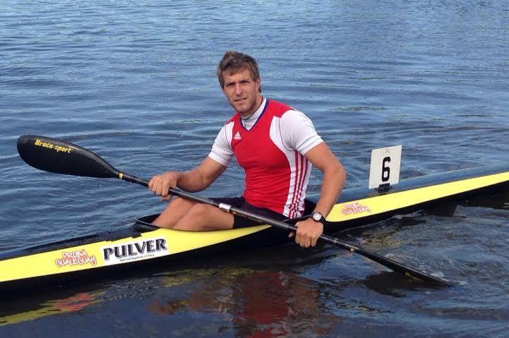 Daniel Dal Bó logró una medalla plateada en en K1 5.000.
