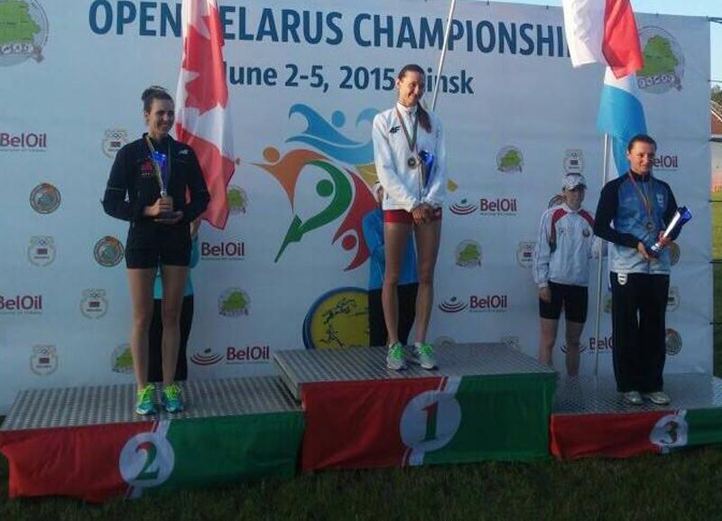 A comienzos de mes Khokhlova fue 3ª en el Abierto de Belarús.