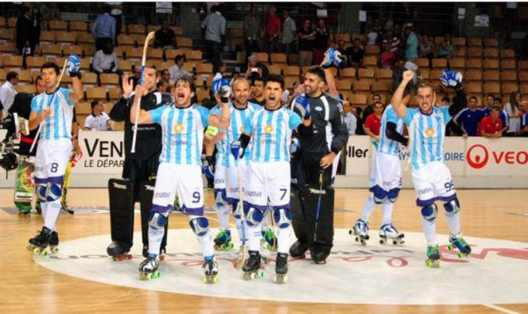 El festejo de los campeones tras el 4-1 ante España.