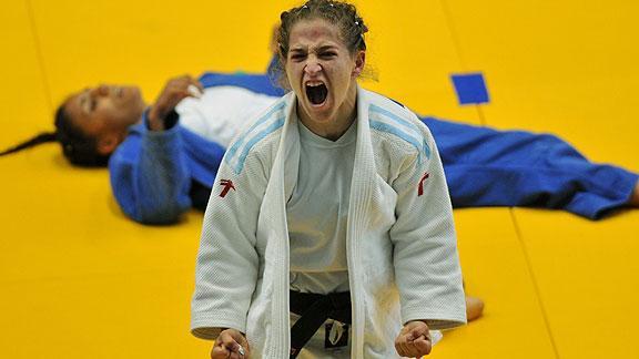 Pareto está primera en el ranking olímpico de 48 kilos.