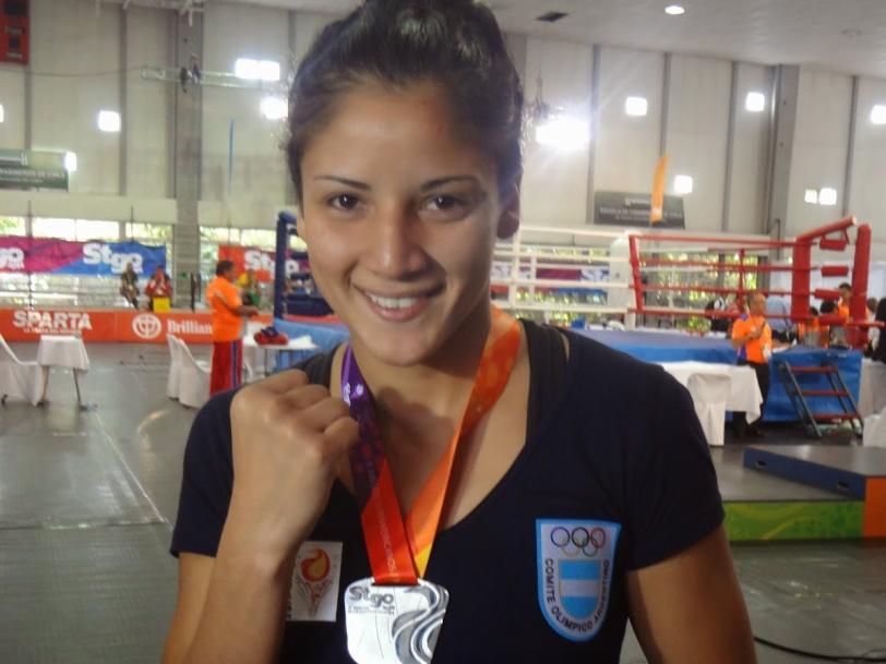 Leonela Sánchez, altas chances de medalla en Toronto.