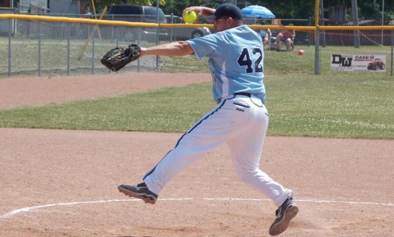 Lucas Mata, uno de los principales pitchers argentinos.