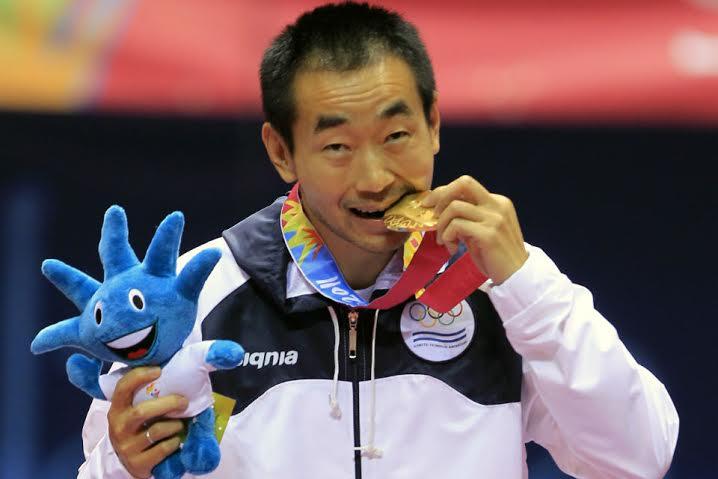Liu Song (retirado) no podrá defender el oro de Guadalajara.