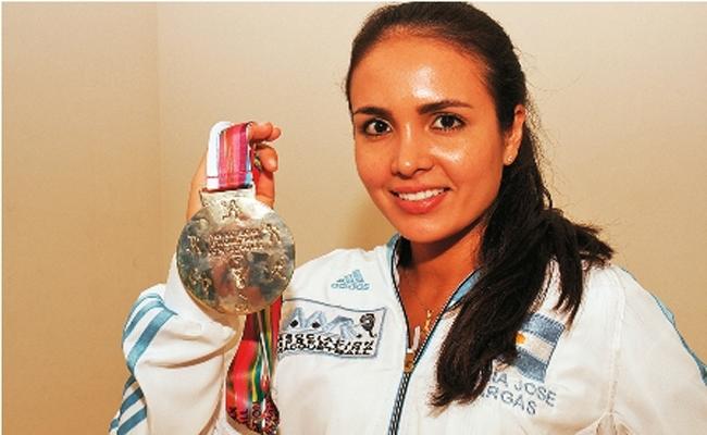 María José Vargas logró dos medallas en el Panamericano de abril.