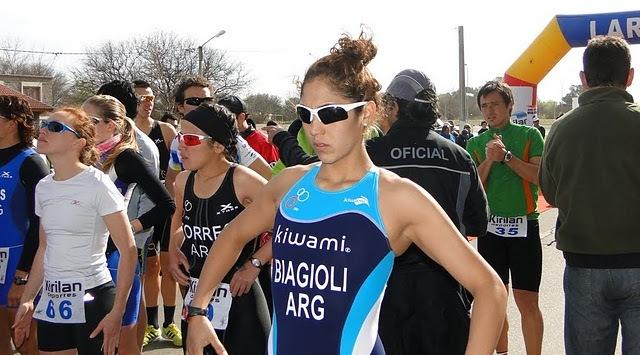A diferencia de Guadalajara, esta vez Romina Biagioli llegó y fue 11ª.