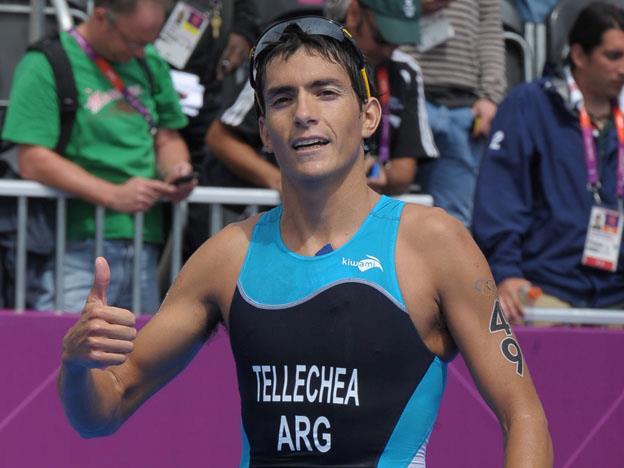 Luciano Taccone fue cuarto, a sólo 7s del podio.