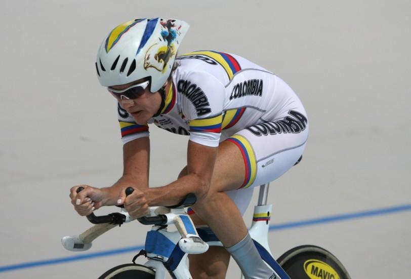 La ciclista colombiana Calle no podrá competir en las pruebas de ruta.