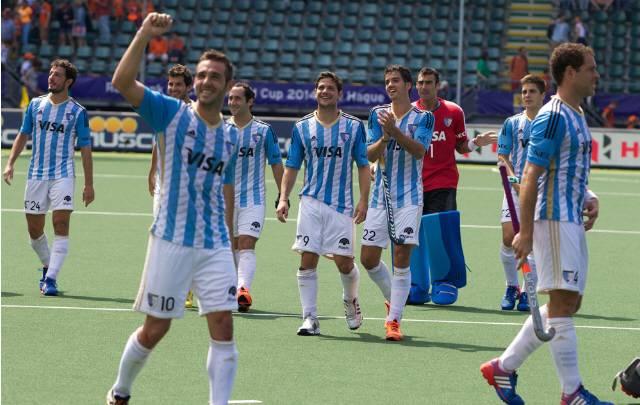 El festejo de los Leones, que nunca faltaron a una final de Panamericanos.