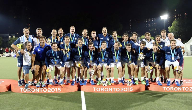 Los Leones revalidaron en Toronto el oro logrado en Guadalajara 2011.