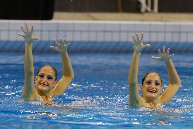 Etel y Sofía Sánchez, en su cuarto Mundial desde 2009.
