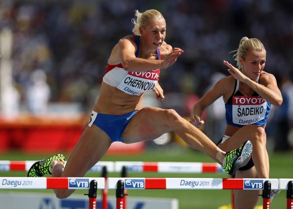 La heptatleta rusa Chernova, una de las 800 apuntadas en el caso de doping.