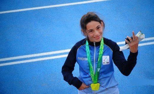 Lis Scaroni ya había sido campeona en los Para Odesur 2014.