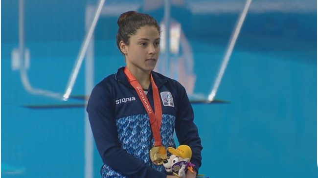 Daniela Giménez, nuestra máxima medallista con cinco podios (dos oros).
