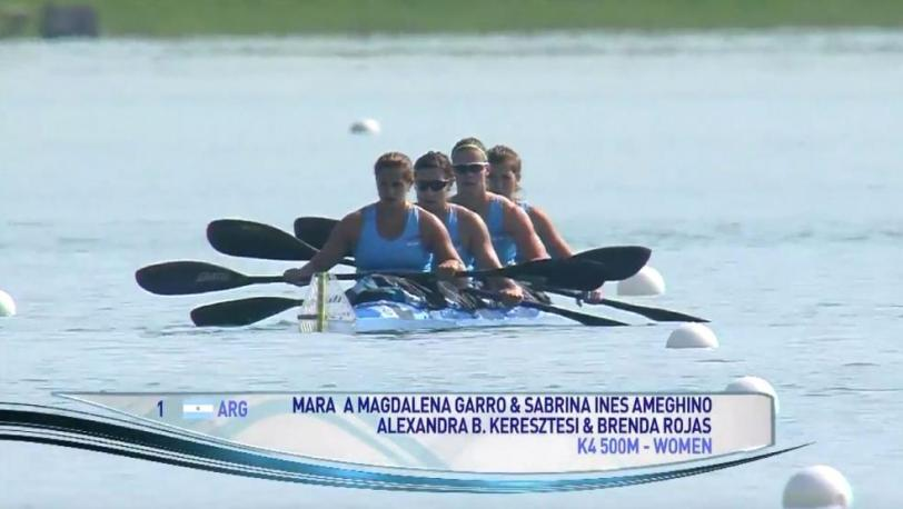 El K4 500 ya está en Río. Hay dos botes más con chances.