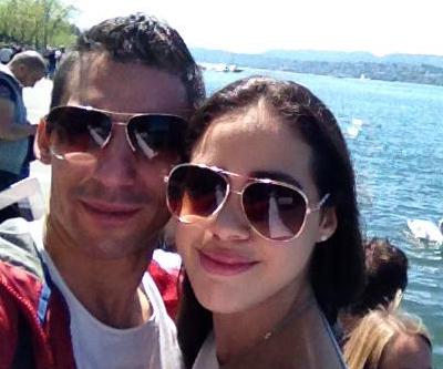 Una selfie de los dos campeones de Cali: Luis De Mattía y Gigi Soler.