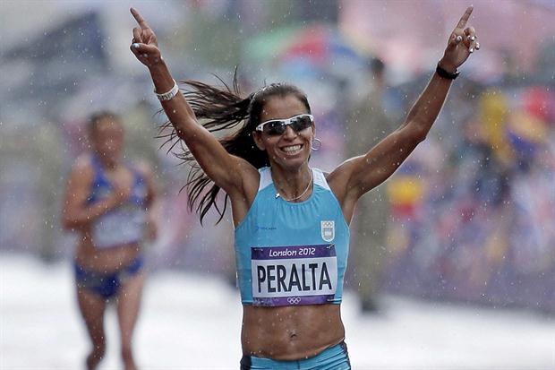 Peralta será olímpica por 2ª vez con la misma marca que la llevó a Londres 2012.