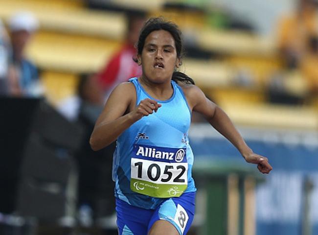 Yanina Martínez aportó el primer podio en Doha.