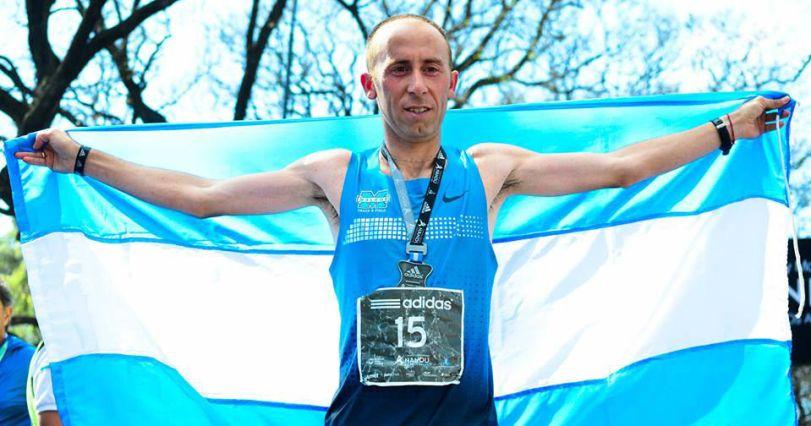 Mastromarino venía de ser bronce en el maratón los Juegos Panamericanos.