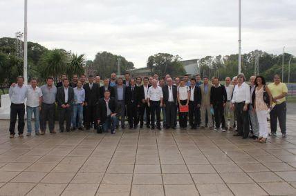 Mac Allister junto con los representantes de las 24 provincias.