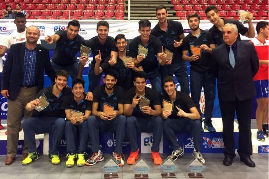 El Sub 23 campeón de la Copa Panamericana.