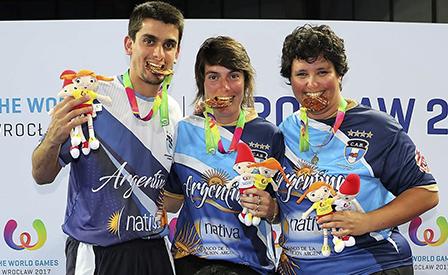 Pretto, Bolatti y Maíz, los bochófilos de oro.