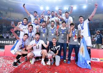 La Sub 23 campeona en Egipto.